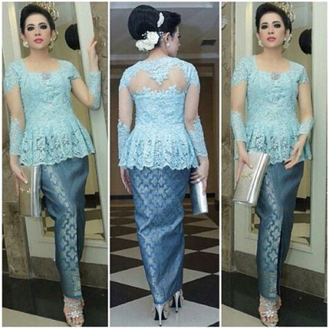 Peplum Brukat Top 383 best images about brokat lace kebaya on