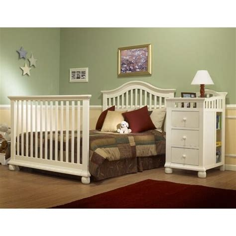 sorelle cape cod crib and changer with toddler rail top 10 crib combo furniture pieces of 2013 ebay