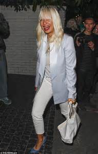 Chandelier With Birds Rita Ora Arrives At Grammys Afterparty Wearing A Lot Of