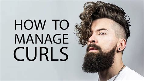 how to style boys wiry hair 5 tips for guys with curly hair how to style curly or