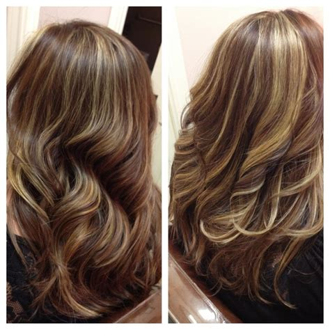 layered highlighted hair styles 66 best haircut color images on pinterest haircuts