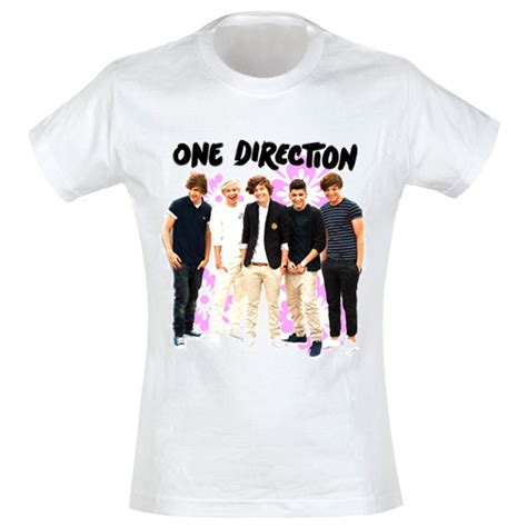 Tshirt Kaos One Direction t shirt one direction pour femme