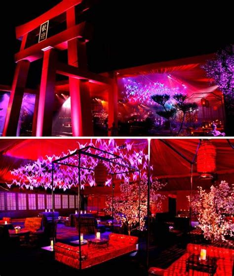 japanese themed events lotushaus hollywood style japanese theme emmy party