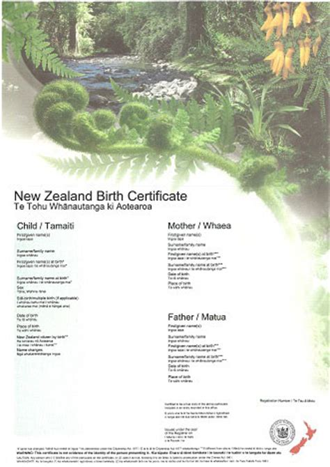 New Zealand Marriage Records Order A Birth Certificate Nz Government