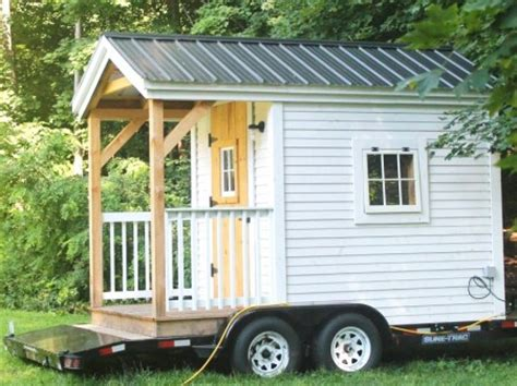 the latest tiny house on wheels from jamaica cottage shop new tiny houses on wheels by kim rak