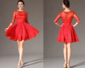 Red prom cocktail dresses skirts for valentine s day 2014 styloss