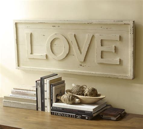 from pottery barn pottery barn inspired love wall art a knock off project