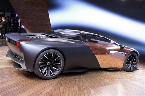 peugeot concept cars peugeot onyx concept car the superslice