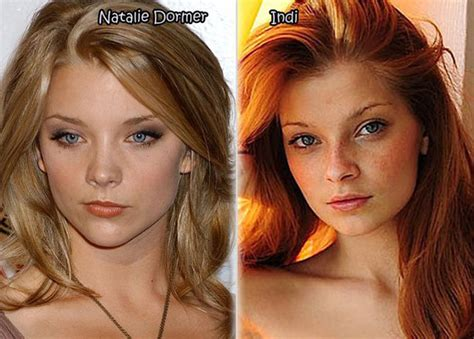 Natalie Dormer Look Alike 42 And Their Doppelgangers Weknowmemes