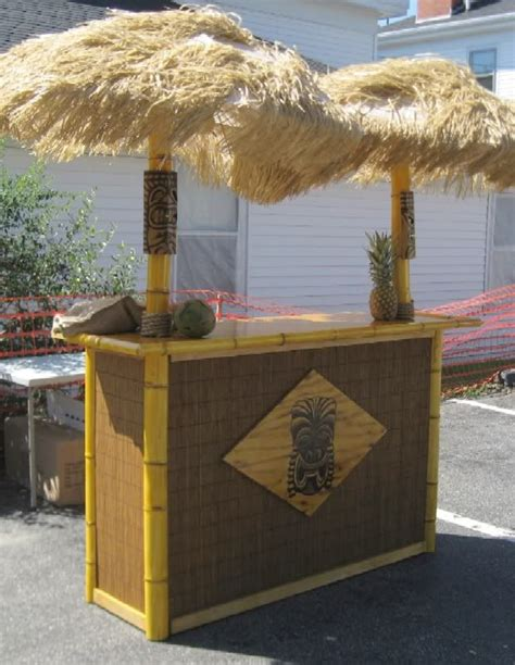 Portable Tiki Bar Plans How To Build A Tiki Bar Cheap Woodworking Projects Plans