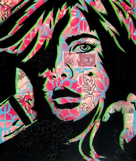 stencil pattern artists papermonster s sexy stencil art 6 total my modern met