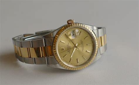 Jam Tangan Wanita Rolex Oyster Perpetual Datejust Grade Aaa Combi jam tangan second sold rolex oyster perpetual date 15223 a serial