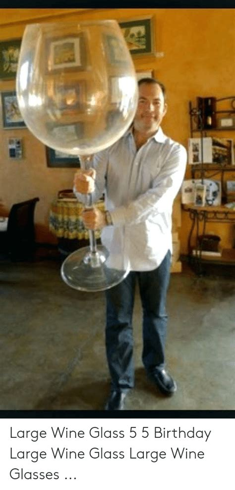 large wine glass   birthday large wine glass large wine