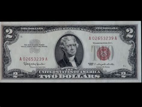 2 black dollar are your 2 bills worth anything clip from the two dollar