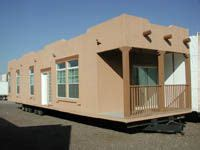 adobe style modular homes southwestern style mobile homes and mobiles on pinterest