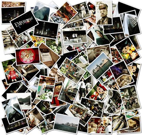 create a picture collage how to make a shape collage photography