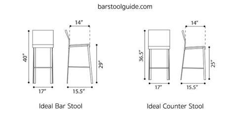 Stadium Height Bar Stools by Bar Stool Dimensions Standard Height Seat Width Leg