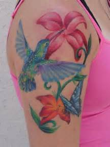 Flower Spa San Antonio - mario sanchez tattoos nature hummingbird tattoo