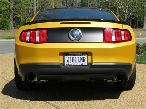 Unique Vanity Plates by Personalized License Plates For Your The Mustang