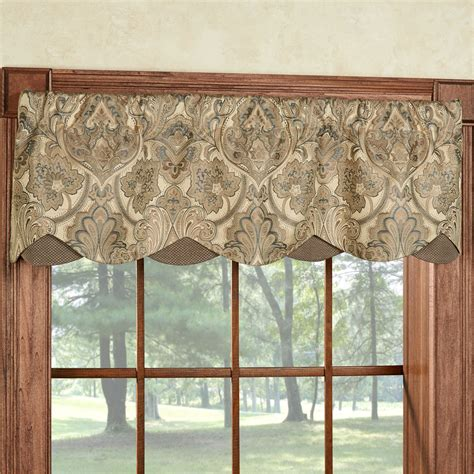 Gold Valances For Windows hollyhock gold layered window valance