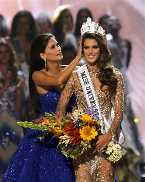 winner of miss universe 2016 who is miss universe 2017 iris mittenaere everything you