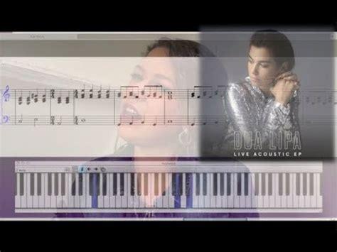 dua lipa golden slumbers mp3 golden slumbers dua lipa piano tutorial sheet music