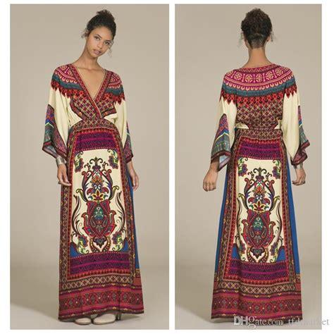 Etnic Maxy Dress 2015 bohemia retro ethnic maxi dresses aztec dress