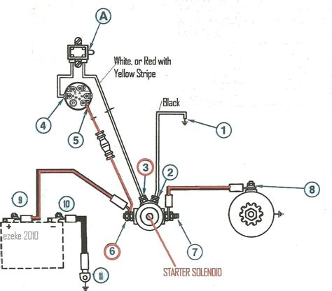 1967 ford starter solenoid wiring diagram wiring diagram