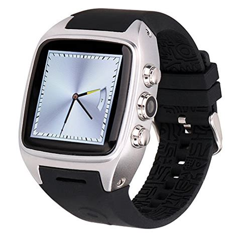 Smartwatch Gw10 3g Wifi Os Android Rate Simcard ourtime x01 wireless smartwatch android 4 4 2 os with support t mobile 3g wcdma sim card