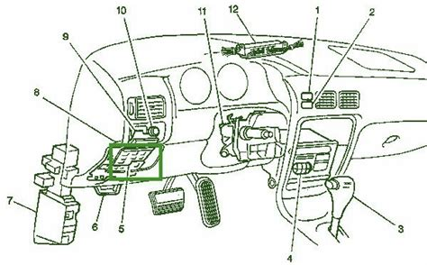 security system 2001 chevrolet prizm engine control 98 chevy prizm leftside the dash fuse box diagram circuit wiring diagrams