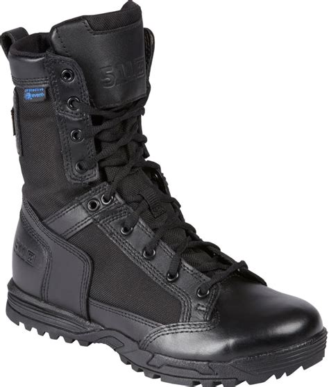 5 11 tactical skyweight wp with zipper black boot 12321