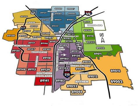 us area code las vegas zip code map las vegas clark county nv zip codes 702 508 8262