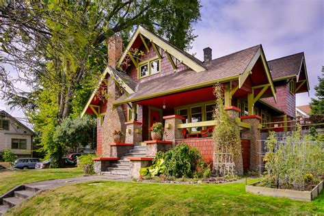 vintage craftsman home for sale in seattle seattle