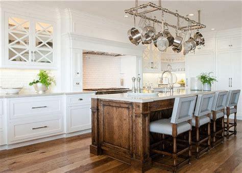 White Stained Cabinet Kitchen by Best 25 Wood Kitchen Island Ideas On Island