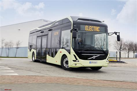 volvo commercial vehicles volvo s first all electric bus begins public road tests