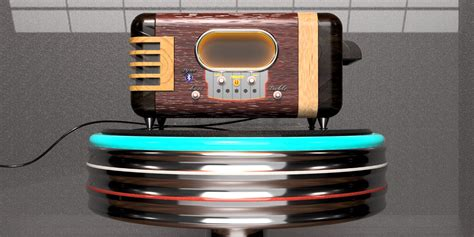 Speaker V8 new school retro bluetooth speaker autodesk gallery
