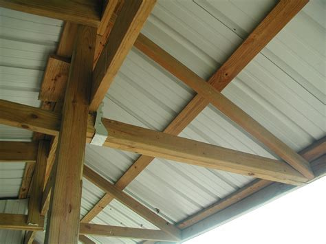 How To Build A Shed Roof Overhang by Loafing Shed Details Of Roof Overhang Ideology