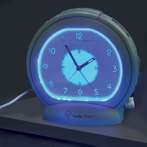 alarm clock bed sonic boom sba475ss analogue alarm clock with bed shaker