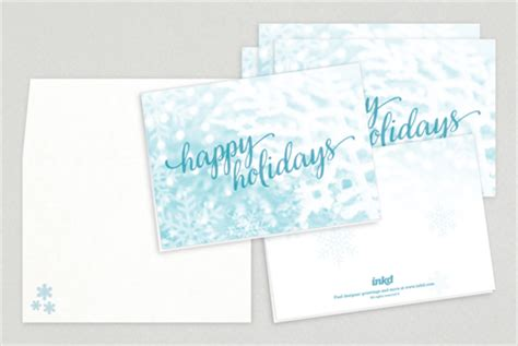 happy holidays greeting card template happy holidays script greeting card template inkd