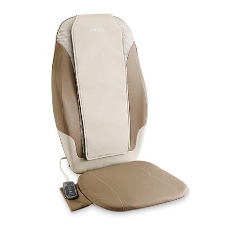 Homedics Chair Massager by Homedics Dual Shiatsu Chair Cushion