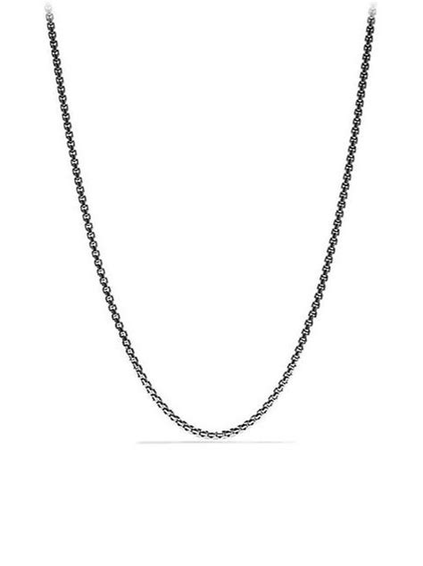 ryan gosling necklace ryan gosling david yurman medium box chain necklace from