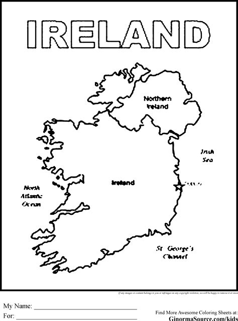 ireland flag coloring pages for preschool coloring pages