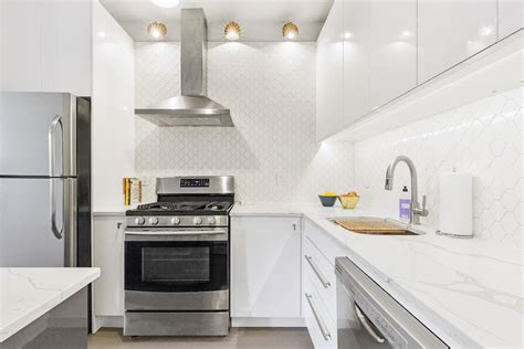 White High Gloss Kitchen Cabinets A White Ikea Kitchen Goes For A Touch Of Shine
