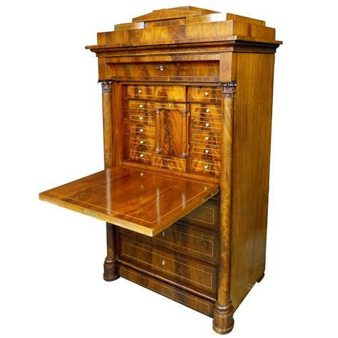 secr騁aire bureau 19th century biedermeier bureau for sale