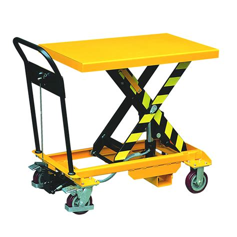 scissor lift platform table scissor lift trolley 500kg mobile scissor tables uk