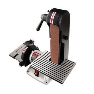 craftsman bench sander craftsman 1 3 hp electric belt disc sander 21513