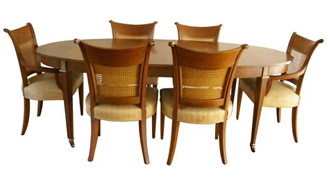 baker table and chairs baker furniture regency dining table chairish