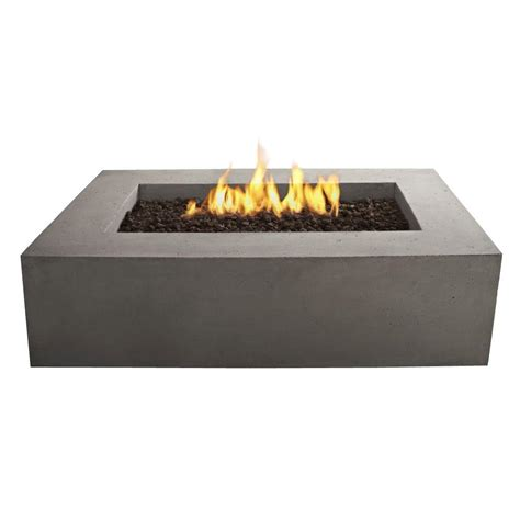 Bond Manufacturing Galleon 60 In X 20 In Rectangular Lp Gas Firepits