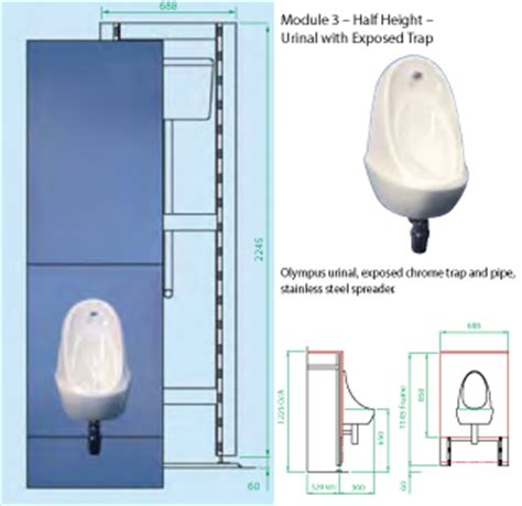 Mixer Frame W Module V 1000b ips panels integrated plumbing systems cubicle systems