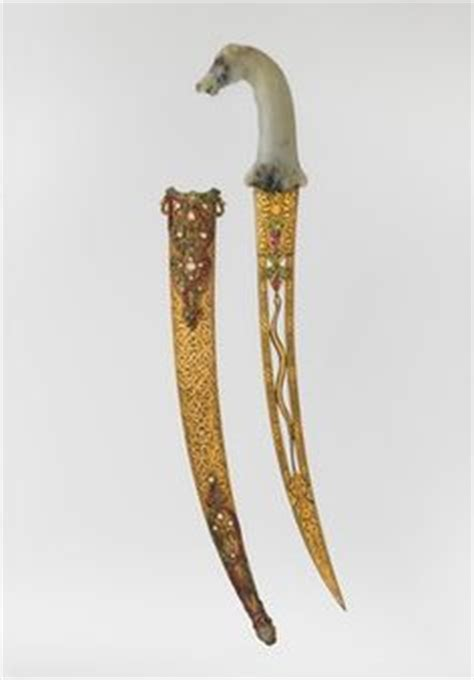Ac 6353 Silver khanjar dagger dated late 18th early 19th century